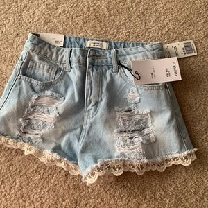 BRAND NEW W/TAGS FOEVER 21 HIGH WAISTED SHORTS